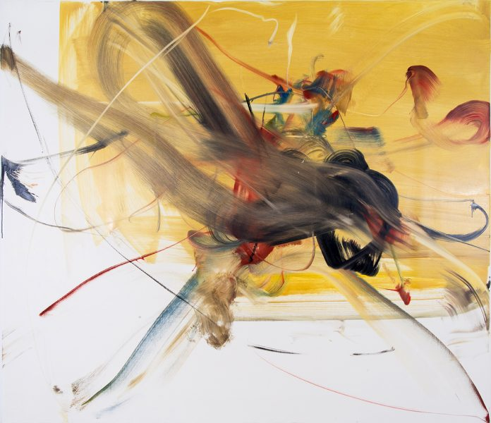 Antonio, 2003, oil on linen, 76 x 87 inches