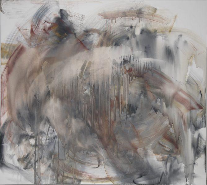 Barry, (Carman), 2018, oil on canvas, 78 x 87 inches