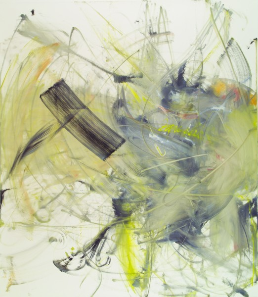 Mark (Jarecke), 2001, oil on linen, 87 3/4 x 76 inches