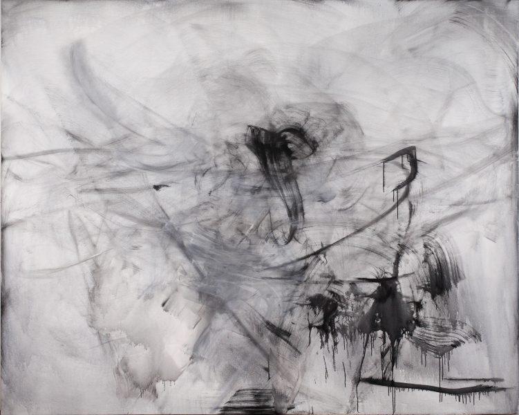Jessica, (Stroh), 2016, oil on canvas, 88 x 110