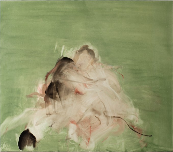 Meredith & Matthew, 2006, Oil on canvas, 67 x 76 inches