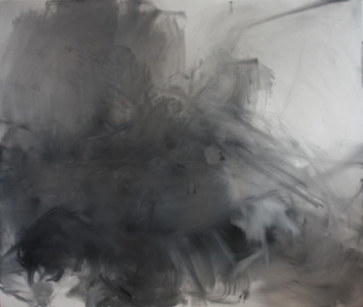 Molly #2 (Poerstel), 2010, Oil on canvas, 66 x 78 inches