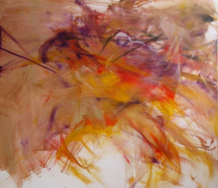 Natsuki, (Arai) 2005, oil on canvas, 67 x 76 inches