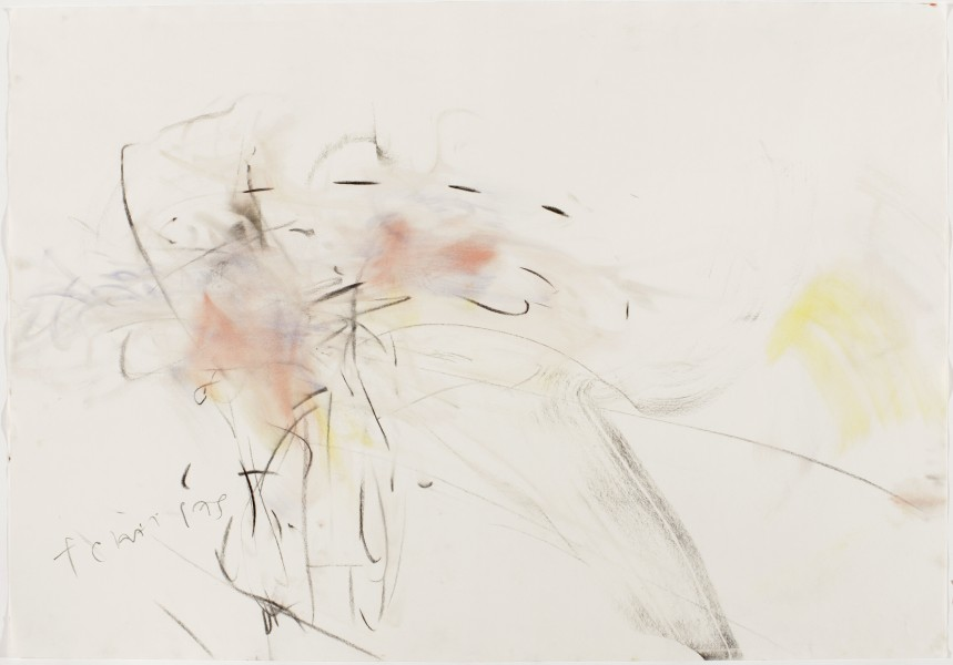 Tchai Pas #2, (American Ballet Theatre, Tuttle / Corella) 2002, pastel and charcoal on paper, 39.5 x 27.5 inches