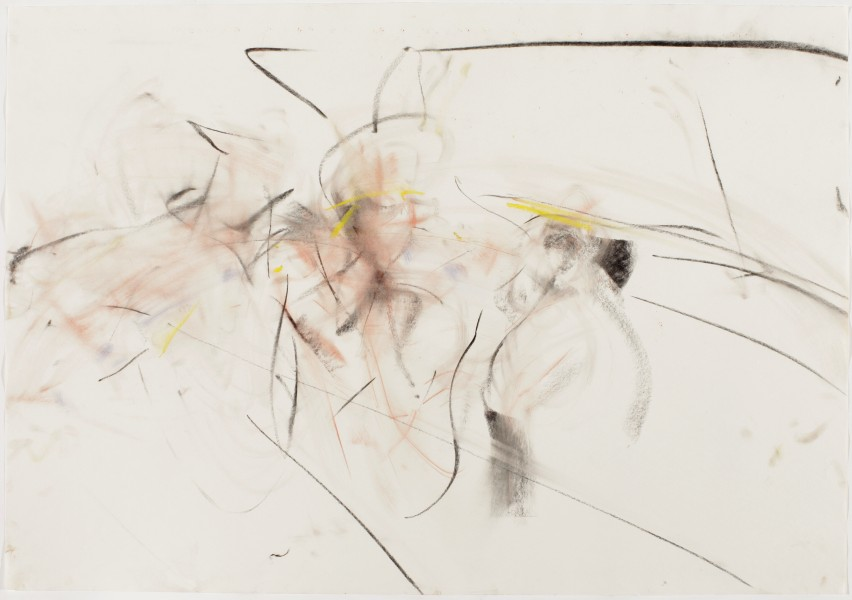 Walk This Way #4, (American Ballet Theatre, Jaffe / Hill) 2002, pastel and charcoal on paper, 39.5 x 27.5 inches