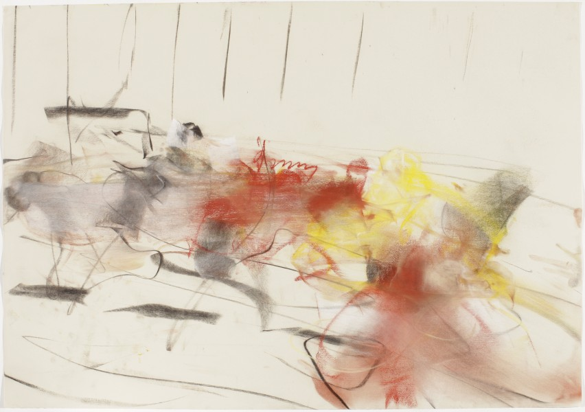 Bill T. Jones / Arnie Zane Dance Company, 1999, pastel and charcoal on paper, 27.5 x 39.5 inches