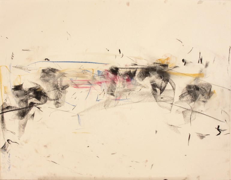 Gloria #4, Mark Morris Dance Group, 1997, pastel and charcoal on paper, 38.25 x 49 inches