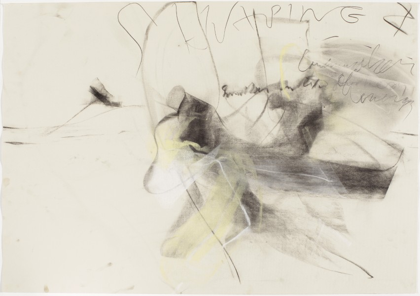 Water Candy Fruit #5, Mark Jarecke Dance, 2000, pastel and charcoal on paper, 27.5 x 39.5 inches