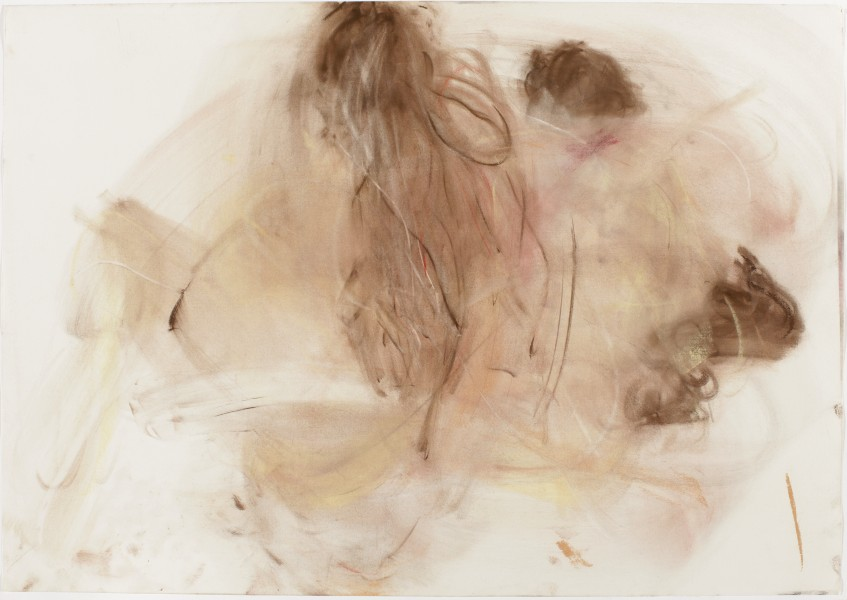 Joseph & Sarah #1, 2005, pastel and charcoal on paper, 27.5 x 39.5 inches