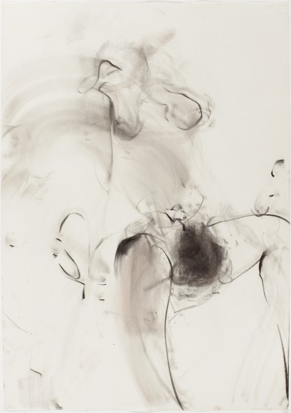 Joshua & Reshma #4, 2005, pastel and charcoal on paper, 27.5 x 39.5 inches
