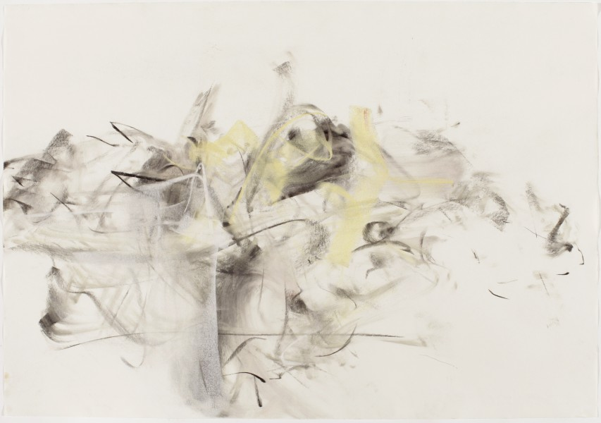 Jesu Meine Freude #13, (Mark Morris Dance Group) 2002, pastel and charcoal on paper, 27.5 x 39.5 inches