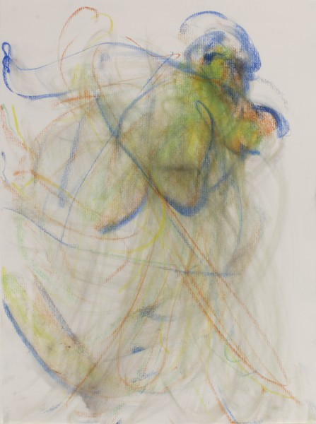 Michal #12, (Samama) 2012, pastel and charcoal on paper, 24 x 18 inches