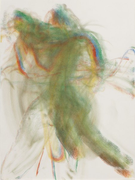 Michal, (Samama) 2012, pastel on paper, 24 x 18 inches