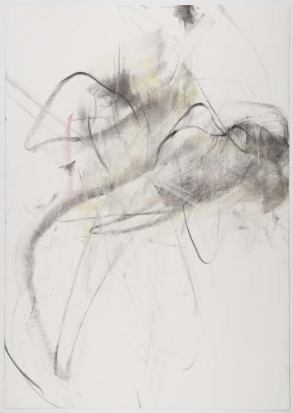 Robert & Minna, (Sher-Machherndl & Tervamäki), 2009, pastel and charcoal on paper, 39.75 x 28 inches