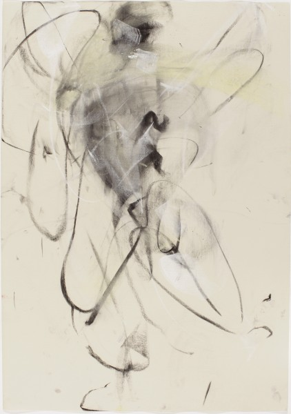 Sonja #28, (Perreten) 1998, pastel and charcoal on paper, 39.5 X 27.5 inches