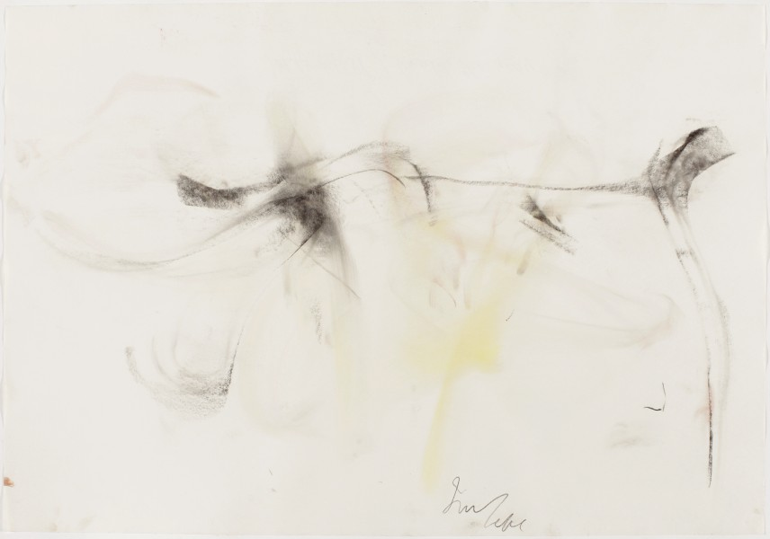 Walk This Way #2, (American Ballet Theatre, Jaffe / Hill) 2002, pastel and charcoal on paper, 27.5 x 39.5 inches