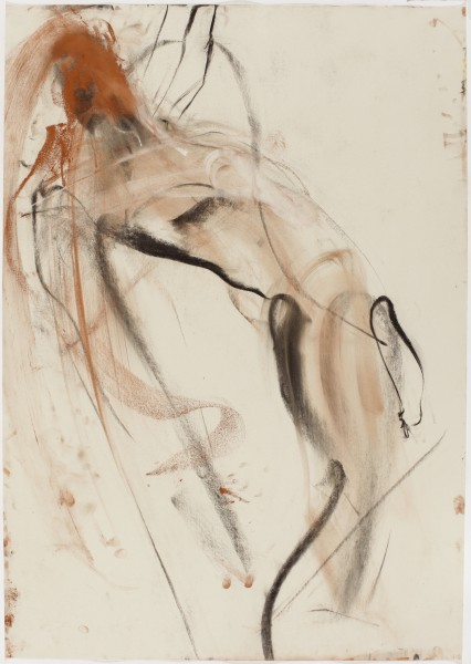 Woody #28, 1998, pastel and charcoal on paper, 39.5 x 27.5 inches
