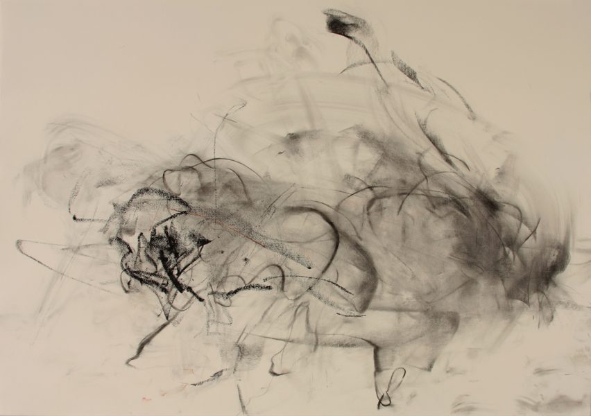Clayberg v Weatherbee, 2008, pastel and charcoal on paper, 27.75 x 39.5