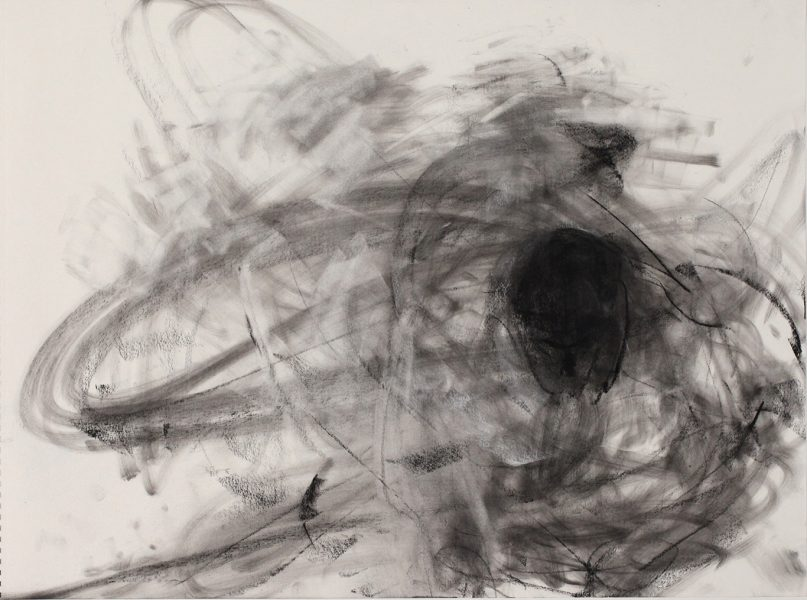 Daniel #19, (Holt), 2015, charcoal on paper, 18 x 24 inches