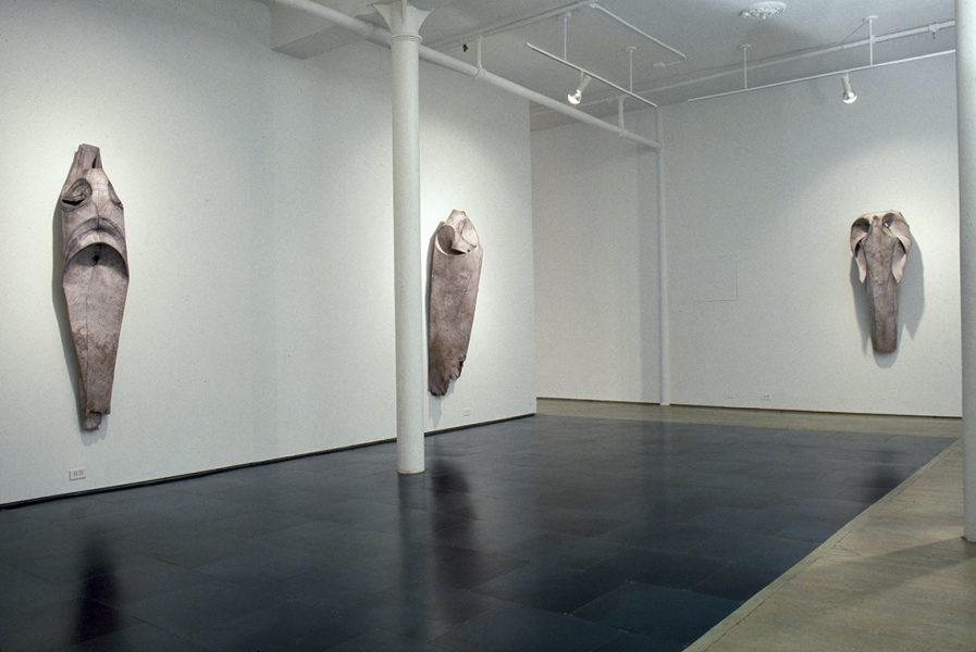Terry Rosenberg, Installation, Sharpe Gallery, New York, 1988