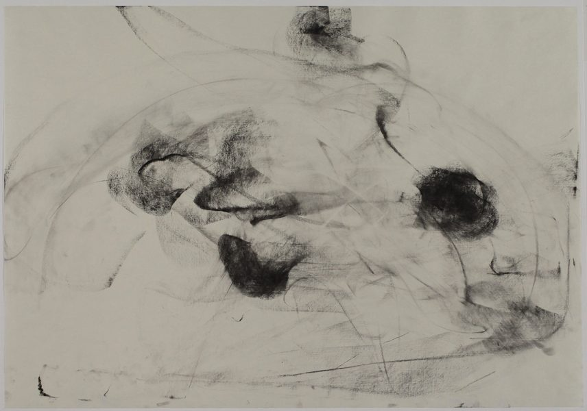 Bryn #2, (Cohn), 2018, charcoal pastel on paper, 27.5 x 39.5 inches