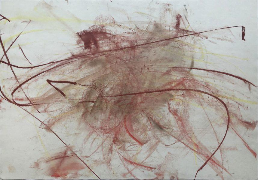 Ichigo, 2019, pastel on paper, 27.5 x 39.5 inches